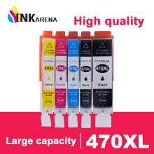 5PCS 470 471 PGI 470 CLI 471 XL Ink Cartridges For Canon Pixma TS5040 TS6040 MG6840 MG5740 MG 5740 6840 Printer Cartridge картридж t2 ic cpgi 470bk xl схожий с canon pgi 470bk xl для canon pixma mg5740 6840 7740 ts5040 6040 8040 black