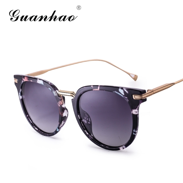 626da8c2a32 Sunglasses Female Tide Star Models Retro Sun Glasses Round Face Personality  Polarized Men Women Sunglasses Elegant Fashion 2017