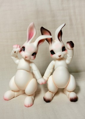 peppi cocoriang 1 8 bjd boneca coelho modelo animal meninas meninos brinquedos de alta qualidade para