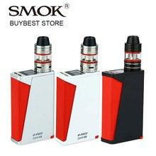 Оригинальный 220 Вт smok H-PRIV TC e-сигареты комплект с микро TFV4 бак 2.5 мл/3.5 мл atomzier и hpriv поле mod электронная сигарета VAPE комплект