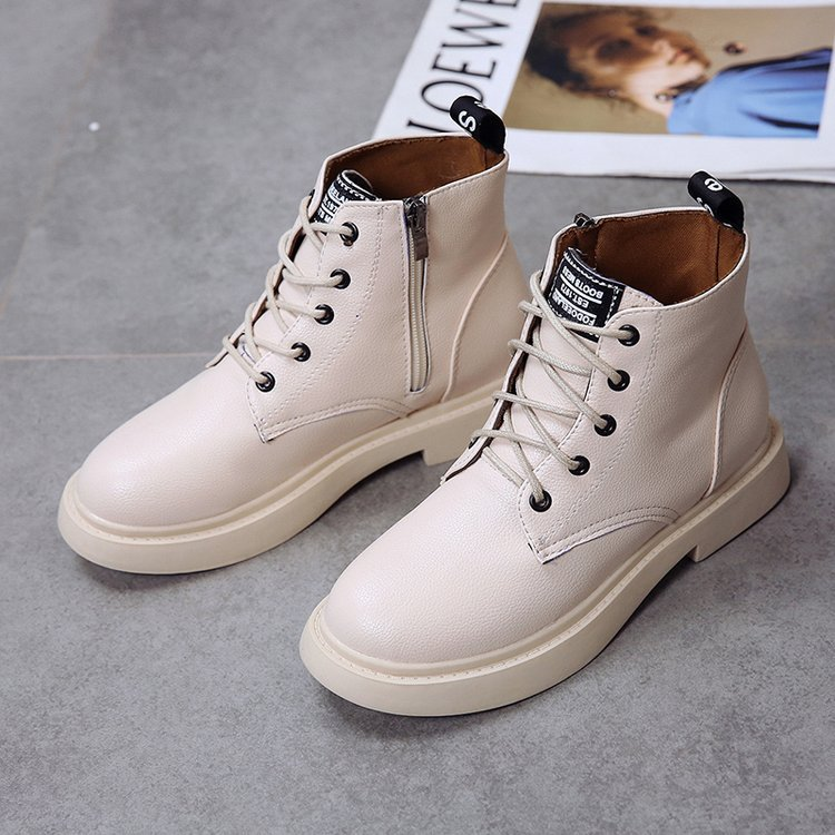 New Genuine Leather women boots winter whit fur Waterproof shock absorption warm breathable wear-resistant non-slip women shoes (1)