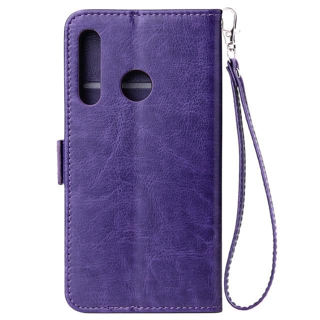 Huawei Honor 10i funda Honor10i funda para Coque Huawei Honor 10i funda de lujo estilo clásico con cremallera Cartera de cuero fundas de teléfono