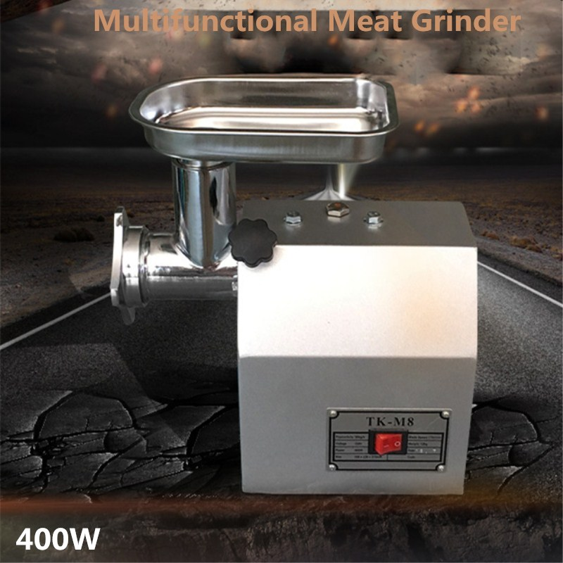 Best Price 60 KG/H Heavy Duty Electric Restaurant Butcher Shop Kitchen Sausage Beef Meat Grinder Mincer Maker Mincing Machine 110 240v electric meat grinder heavy duty household commercial sausage maker meats mincer food grinding mincing machine