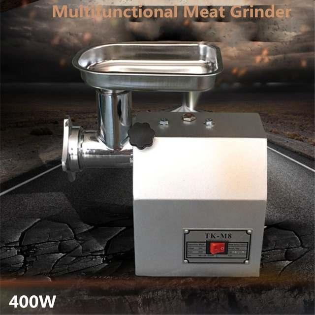 Best Price 60 Kgh Heavy Duty Electric Restaurant Butcher Shop Kitchen Sausage Beef Meat Grinder Mincer Maker Mincing Machine