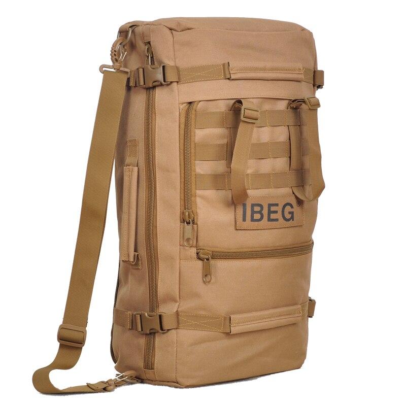 Prix pour Nouveau sac à dos militaire mâle 45 l d'eau-preuve Oxford 1680 d sacs sac à dos touristique divertissement voyage sacs