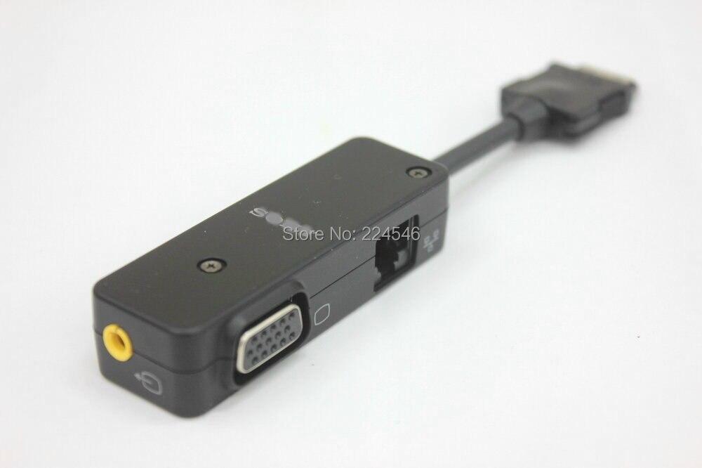 Convertisseur d'extension d'origine VGA/LAN, adaptateur A/V pour ordinateur portable SONY VAIO UX17 UX18 UX27 et série UX