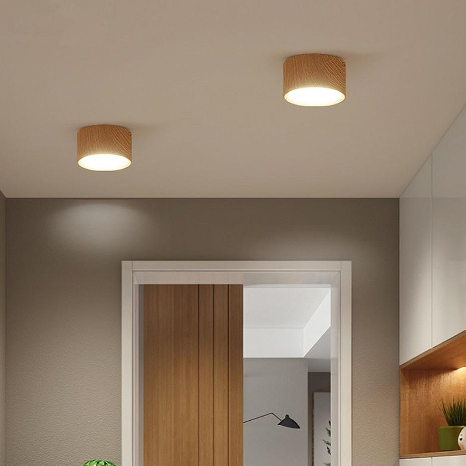 HTB183WYaOLrK1Rjy1zdq6ynnpXa4 [DBF]High Bright Epistar CREE Ceiling Lights 3W 5W 7W 10W 12W 15W Nordic Wood Surface Mounted Ceiling Spot Light for Bar Kitchen