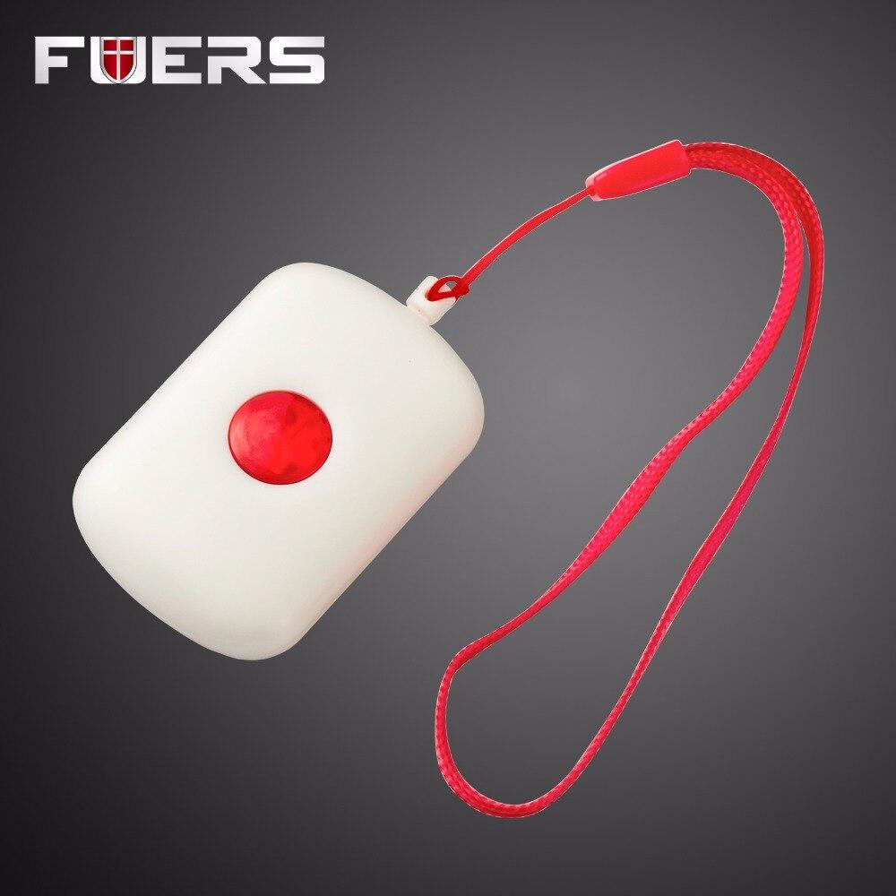 Беспроводной Цепочки и ожерелья тревожная кнопка для Wi-Fi GSM сигнализация дома Системы безопасности вызова при аварийной ситуации дверной З...