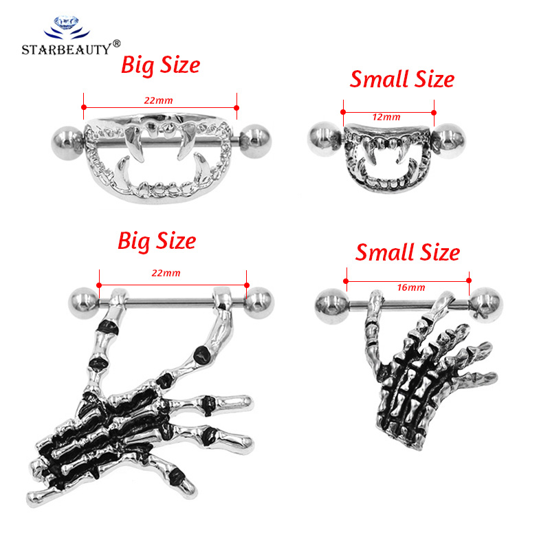 Aliexpresscom  Buy Starbeauty 2Pcs Big Small Size Skull -7837