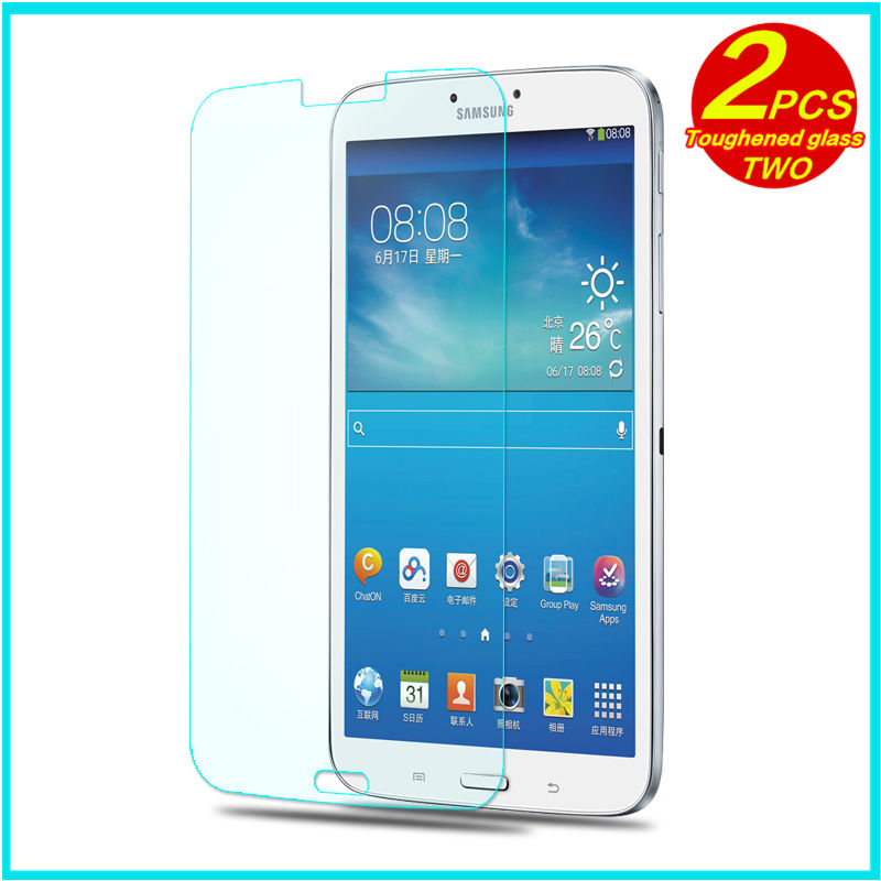 En Verre trempé membrane Pour Samsung Galaxy Tab3 8.0 T310 T311 T315 Acier film Tablet Écran Protection sm-t310 t311 T315 8 cas