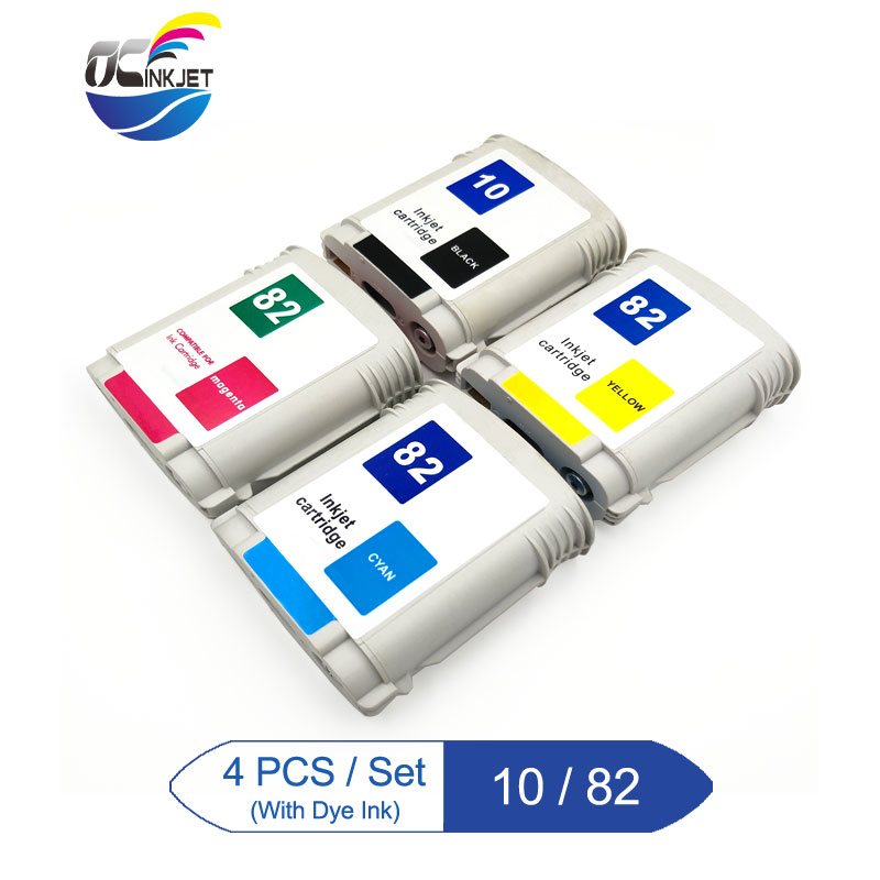 Third Party For HP 10 82 Compatible Ink Cartridge For HP Designjet 500 500ps 800 800ps 815MFP 820MFP 1100 Printer|Ink Cartridges| |  - title=