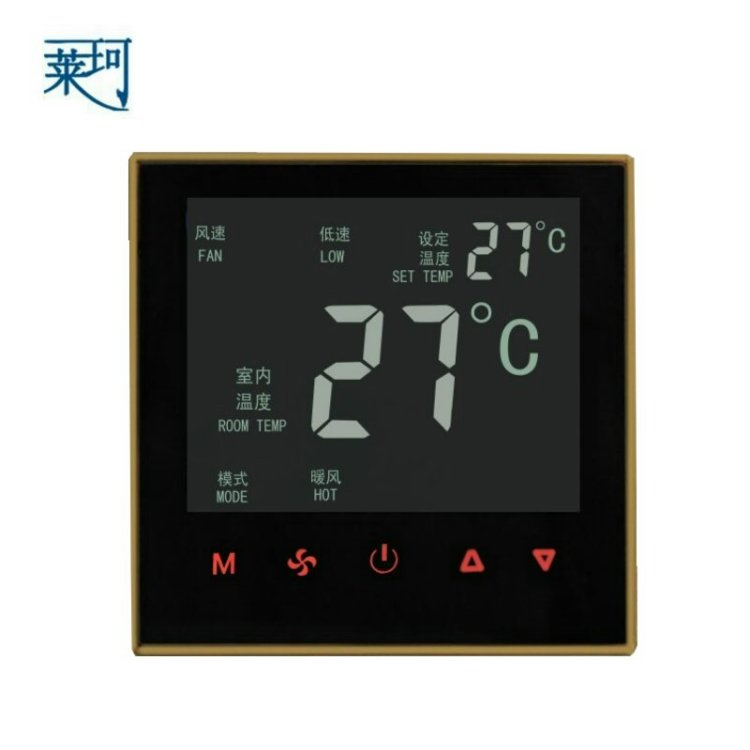 все цены на  K606 touch screen central air-conditioning thermostat fan coil thermostat switches the LCD temperature controller  онлайн