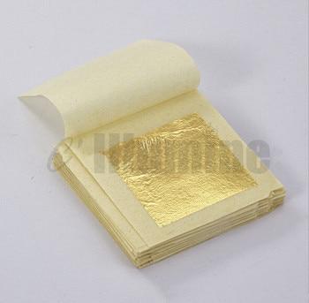 50sheets 4.33*4.3cm Gold Foil Mask  Sheet Spa 24K Gold Face Mask  Beauty Salon Equipment Anti-Wrinkle Lift Face  Beauty Care