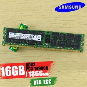 Image 4 - Carte mère X99 double fente M.2 NVME, prise en charge DDR3 DDR4 LGA2011 3 LGA 2011, Intel Xeon e1 2676 V3, 32 go 16 go x 2 pièces, 1866mhz, jeu de mémoire