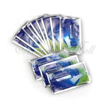 Отбеливающие белее профессиональное упак. полоски зубов отбеливание полосы гель шт. для