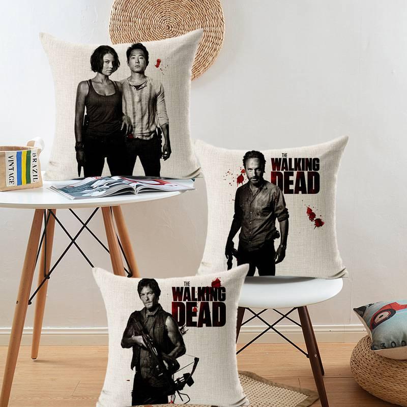 Portrait Style Fashion Cushion Home Decor Pillows Walking Dead Printed Bedroom  Decorative Throw Pillows Fashion Cushions. Online Get Cheap Bedroom Decorative Pillows  Aliexpress com