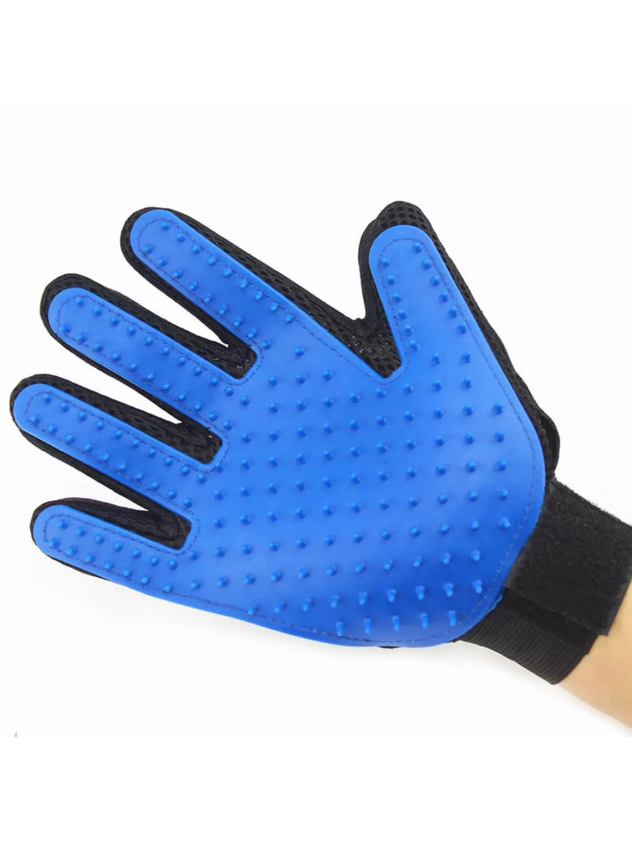 Glove Dog Brush Pet Grooming Promote Blood Circulation Pet Beauty Grooming Tool Comb Glove for Pet Cleaning Dogs Brush in Dog Combs from Home Garden