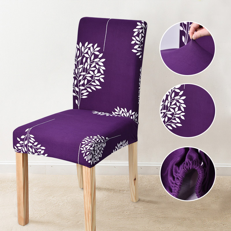 Spandex Dining Chair Cover Anti Dirty Kitchen Seat