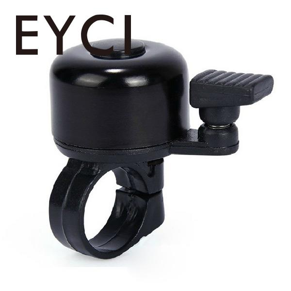 EYCI 10Pcs Metal Ring Handlebar Bell Horn Alarm Loud Sound For Bike Bicycle Cycling Security Black Useful New