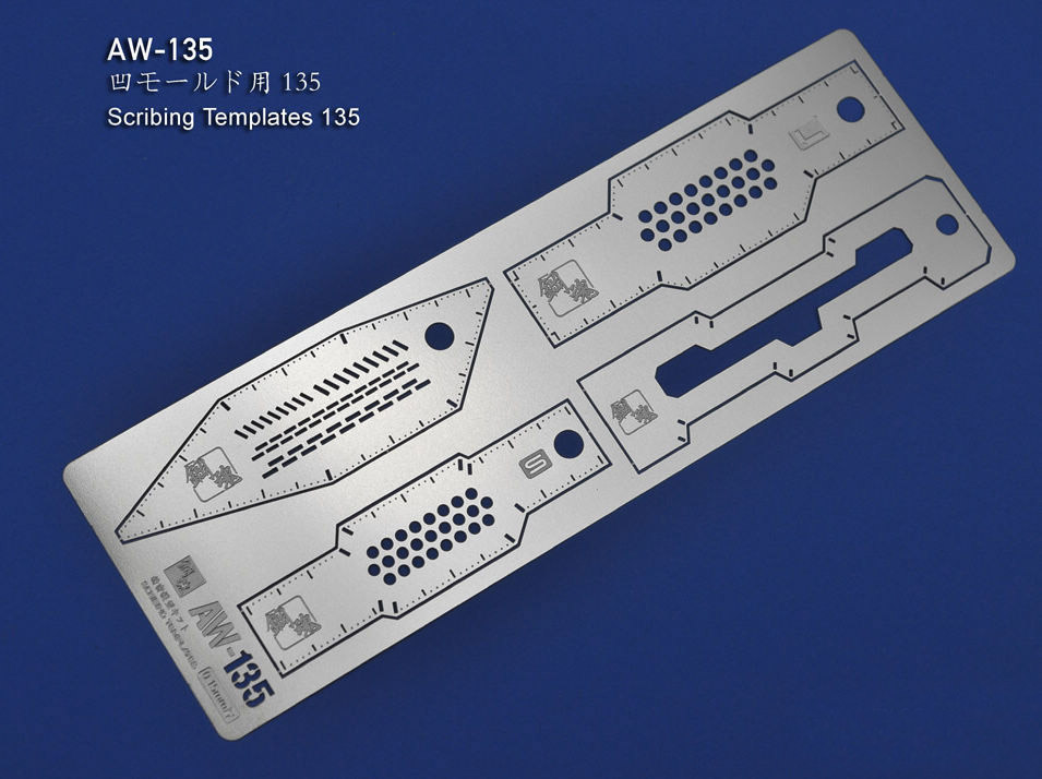 Etching Parts For Gundam Scribing Templates AW135 Photo-etched Sheets Accept Wholesale