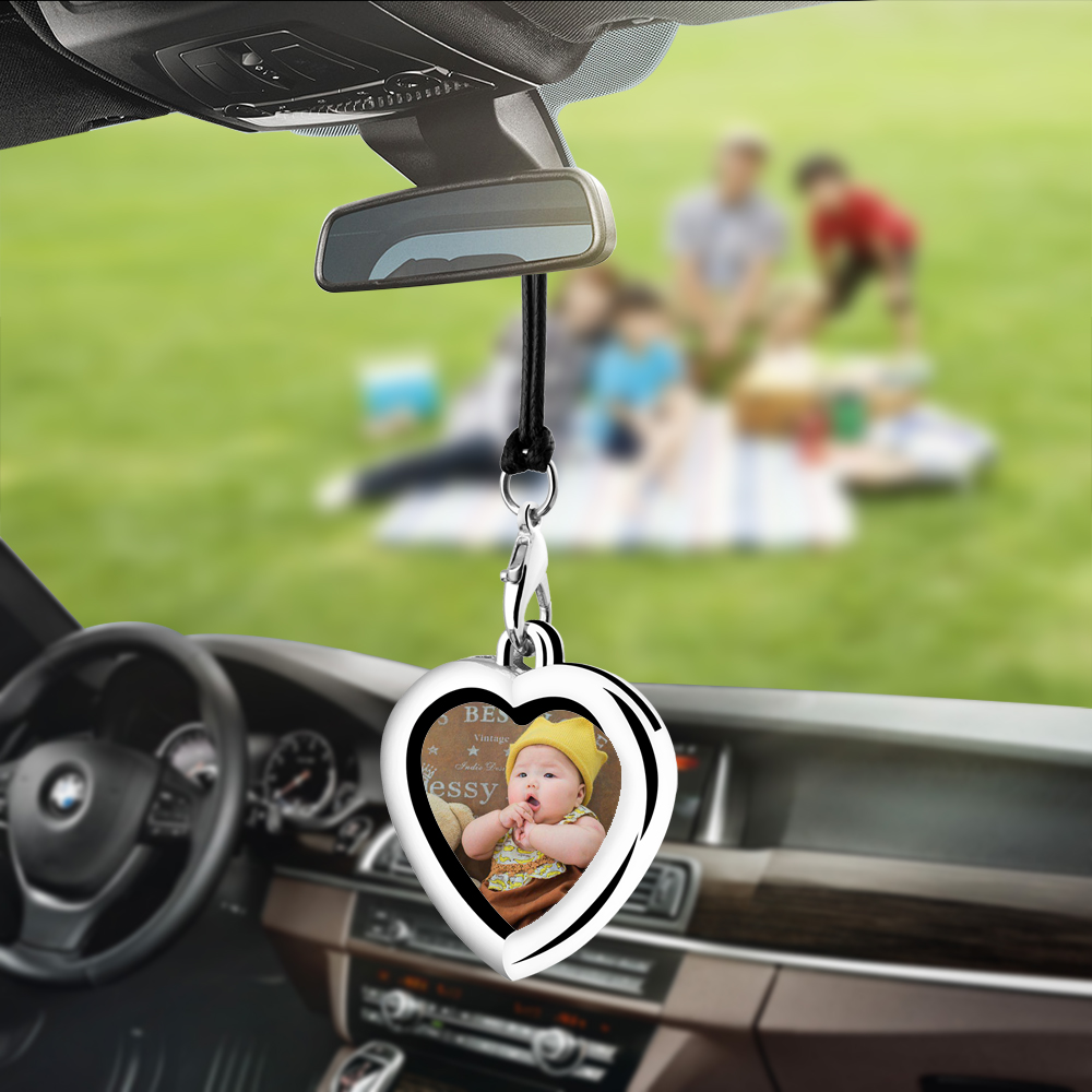 Bemost Car pendant Photo frame Hanging Ornaments Automobiles Rearview Mirror Suspension Decoration Auto Accessories Gifts