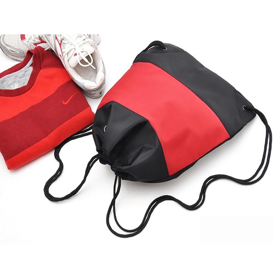 Mochilas para adolescentes de entrenamiento de fútbol zapatos de baile  bolso de lazo mujeres mochila 2015 mochila escolar bolsa deporte mochila en  Mochilas ... f174fd9e53541