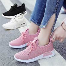 Shoes Women Sneakers Womens Casual Shoe Tenis Feminino Woman Walking Shoe Moda Mujer 2019 Brand Designer Shoes White Pink Black