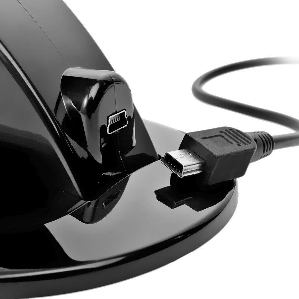 Controller Ladegerät Dock LED Dual USB PS4 Ladestation Station - Spiele und Zubehör - Foto 5