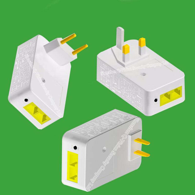4-UKEUUS Broadlink DNA 200M Wireless WIFI Router Powerline Carrier Extender Wireless Smart Router WIFI Range Extender Automation