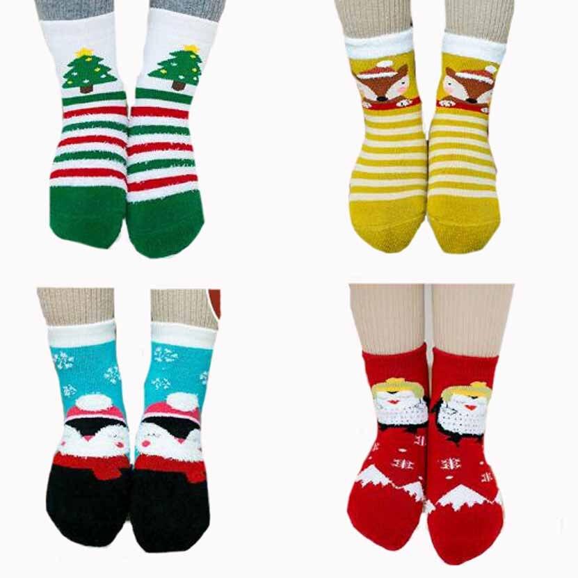 745032b86da Tukla Babe children s socks wholesale new autumn and winter Christmas  cartoon terry towel socks thick warm boys girls kids socks