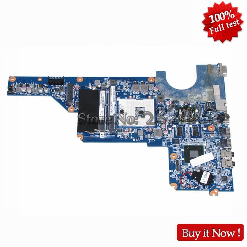 NOKOTION 636375-001 DA0R13MB6E0 for HP Pavilion G4 G6 G7 laptop motherboard 650199-001 HM65 HD6470 1GB DDR3 100% test