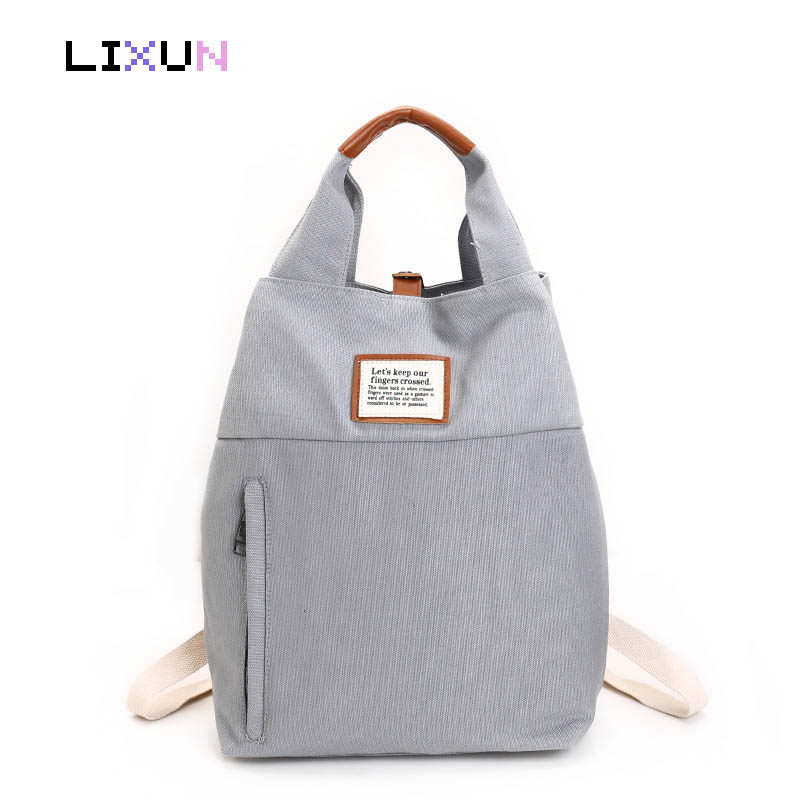 Multifunction Unisex Canvas Harajuku Backpack Women Tote Rucksacks Preppy Style School Bags For Teenager Casual Travel Bag Bolsa vintage casual canvas backpack men rucksacks women bagpack laptop backpacks satchel bag travel school bag unisex mochilas 2017