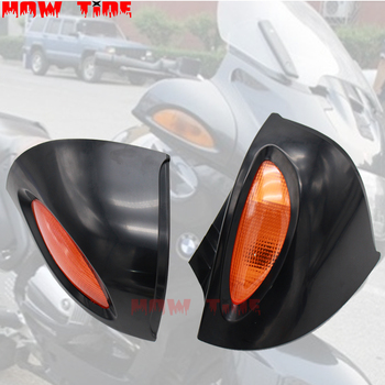 Signal Lens Rearview Glass Side Mount Mirrors for BMW R 850/1100/1150 RT R850RT R1100RT R1150RT RT850 RT1100 RT1150 image