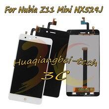 5.0 ใหม่สำหรับ ZTE Nubia Z11 Mini NX529J จอแสดงผล LCD + หน้าจอสัมผัส Digitizer Assembly Black/White 100% ทดสอบ + การติดตาม