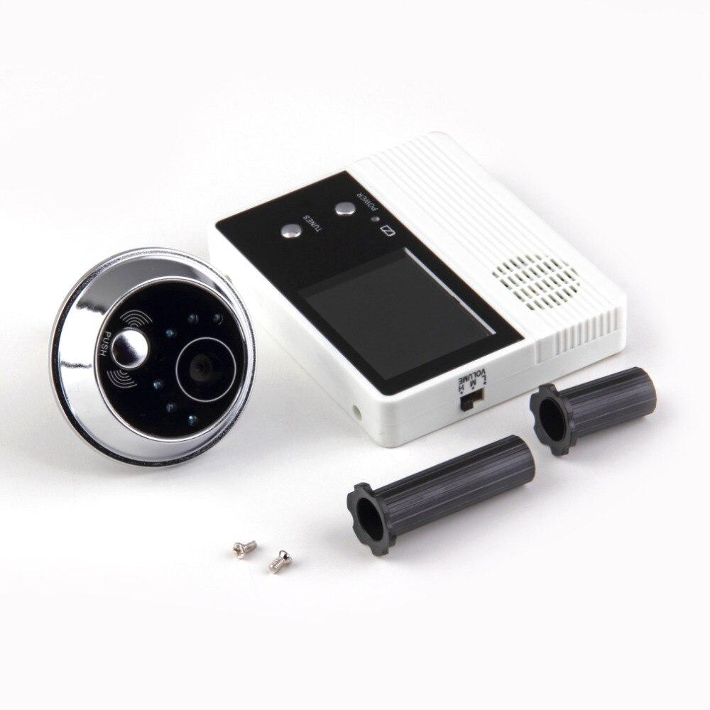 2018 New 2.4 Inch TFT LCD Screen Digital Eye Viewer Video Camera Door Phone Monitor Speakerphone intercom Home Security Doorbell