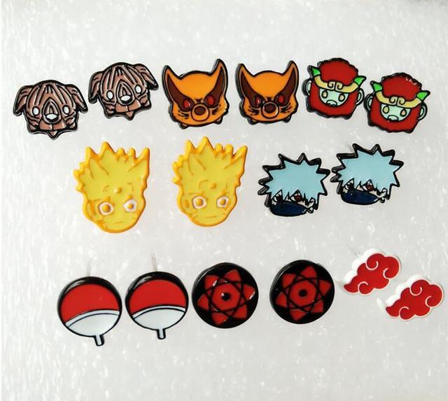 Naruto Konan Fashion Personality Asymmetric