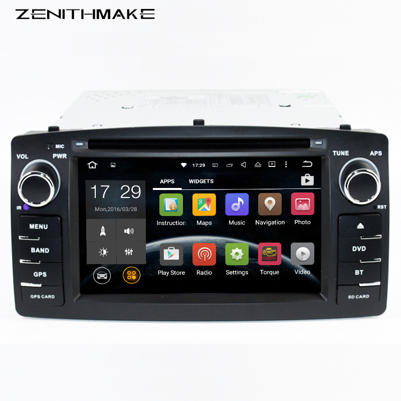 Free shipping 6.2inch Double 2Din Android RK3188 Quadcore Car dvd For ToyotaCorolla E120 BYD F3 dvd car player
