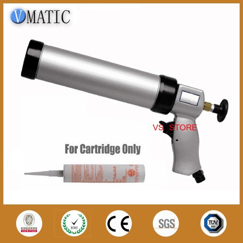 pneumatic caulking glue gun 310ml 1pcs for glass + cartridge 1pcs  цены