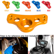 38mm Motorcycle Hour Meter Mount Bracket For KTM Suzuki For Honda Kawasaki For Husqvarna