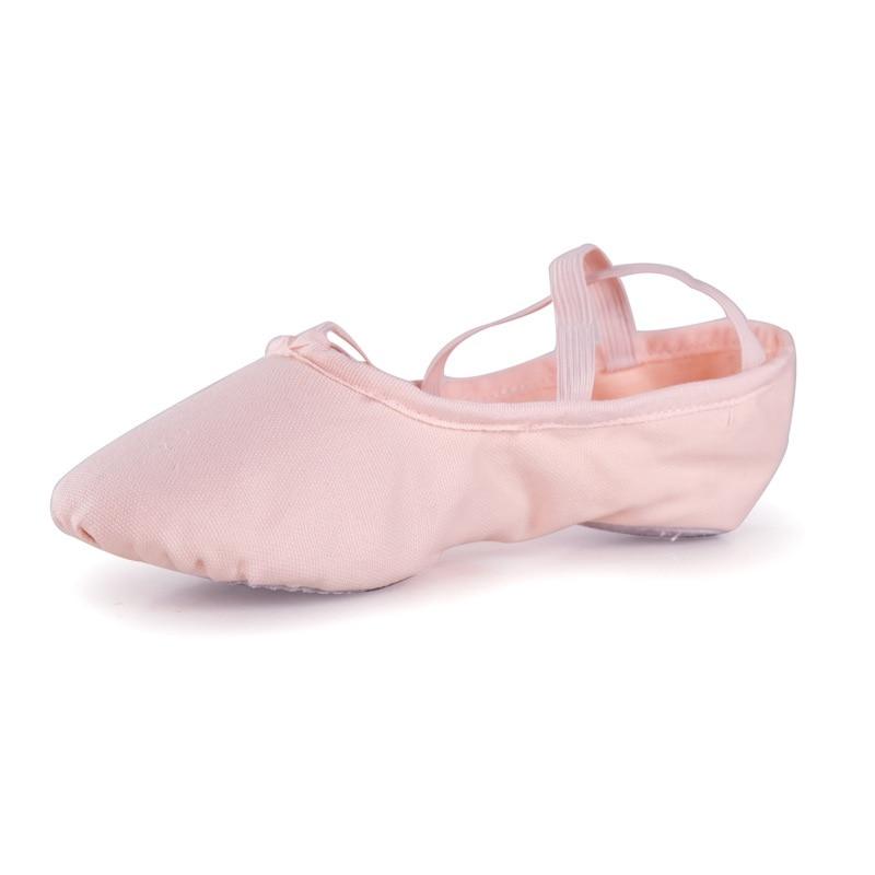 Soft Ballet Dance Shoes For Women Children Soft Bottom Adult Women Dance Shoes Sports Cat Claw Canvas Ballet Shoes Sneakers