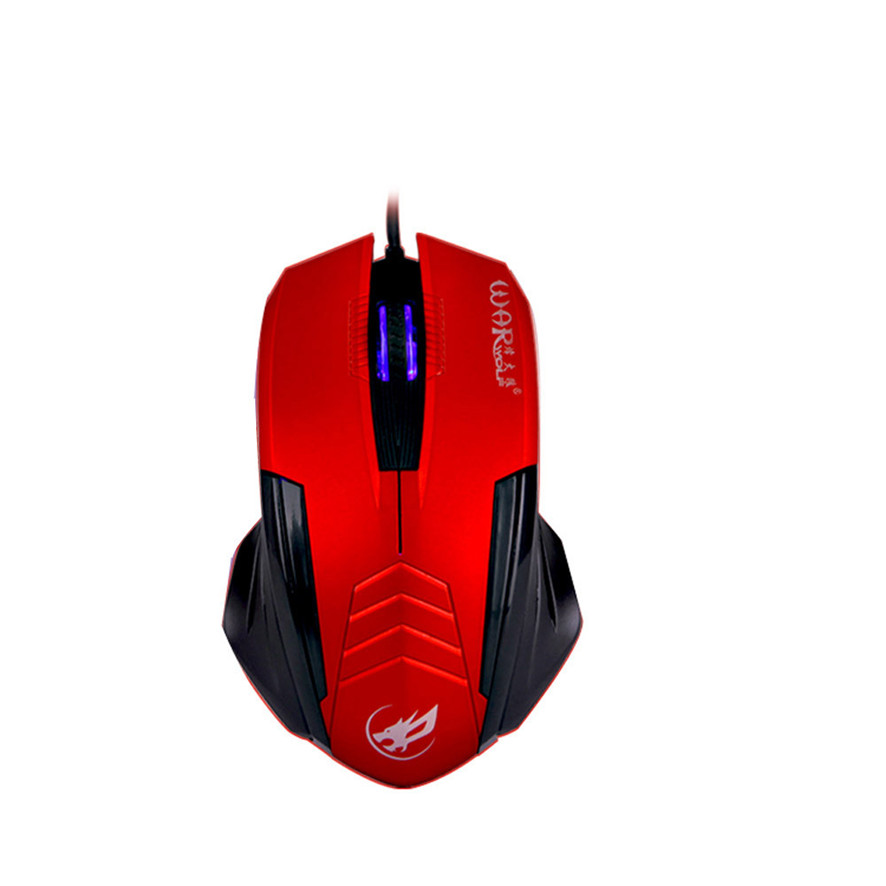 Best Price 1000 DPI 3D Buttons LED Wired Gaming Mouse For PC Laptop