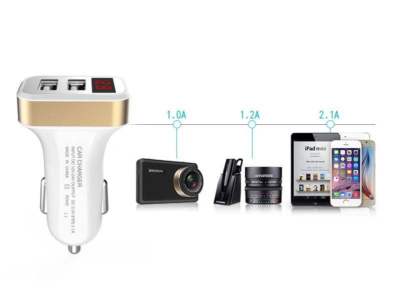 2/3 USB 2.1a/1A автомобиль-Стайлинг автомобиля Зарядное устройство телефон для <font><b>Samsung</b></font> Galaxy J1 Mini Prime sm-j106 J2 J3 pro <font><b>J5</b></font> J7 <font><b>2016</b></font> Luna Примечание 7 On5