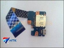Оригинал для dell latitude 3450 usb sd card reader совета с кабелем ls-b071p cn-0c9d47 0c9d47 c9d47 тест хорошо бесплатная доставка