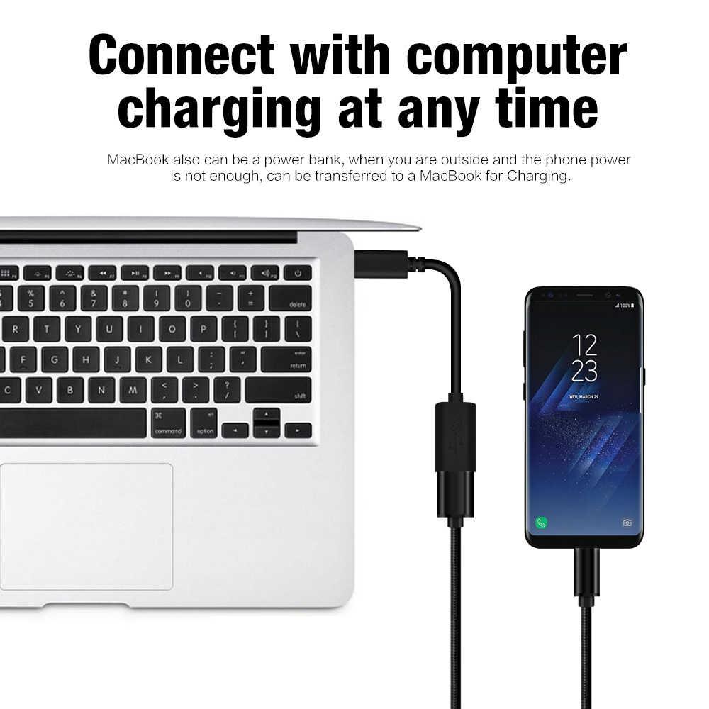 نوع-C USB وتغ محول كابل الشاحن ل Meizu برو 7 6 XiaoMi mi5s mi6 نيكزس 5X6 P LG G5 G6 هواوي P9 P10 زائد Oneplus 5 3 T 3 2