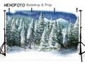 Рождественские фоны для фотостудии зимний сезон снег лес Снежинка домашний декор праздник семья праздновать фотосессию