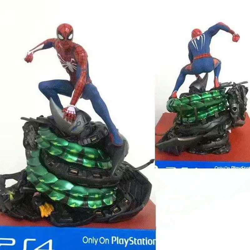 19cm Marvel Toy Avengers ps4 only on playstation Spiderman PVC Action Figure Superhero Spider man Collectible