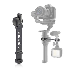 Extension arm Dual Hot Shoe Monitor Mount Bracket for Moza Mini Mi air 2 for Feiyutech AK4000 AK2000 Handheld Gimbal Accessories