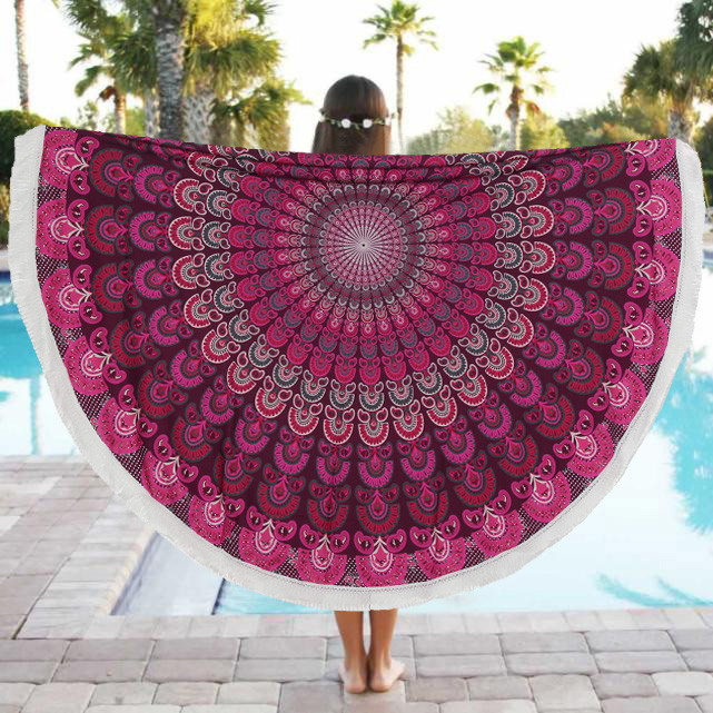 New Hot Beach Pool Home Shower Towel Blanket Table Cloth Yoga Mat Swimsuit Cover ng0