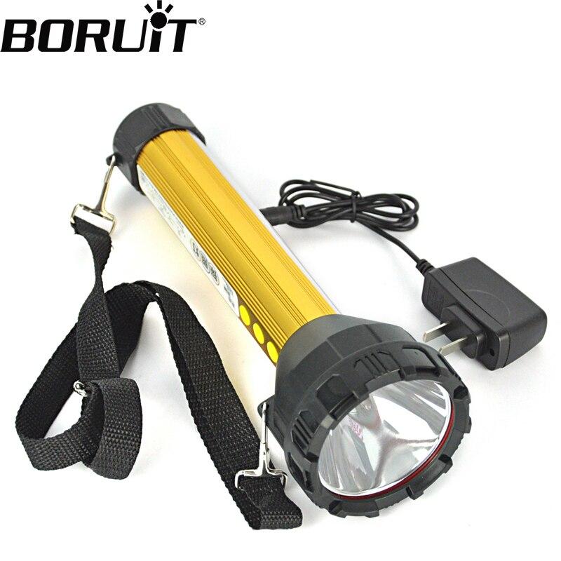 Boruit 2000LM 15 LED Rechargeable Flashlights