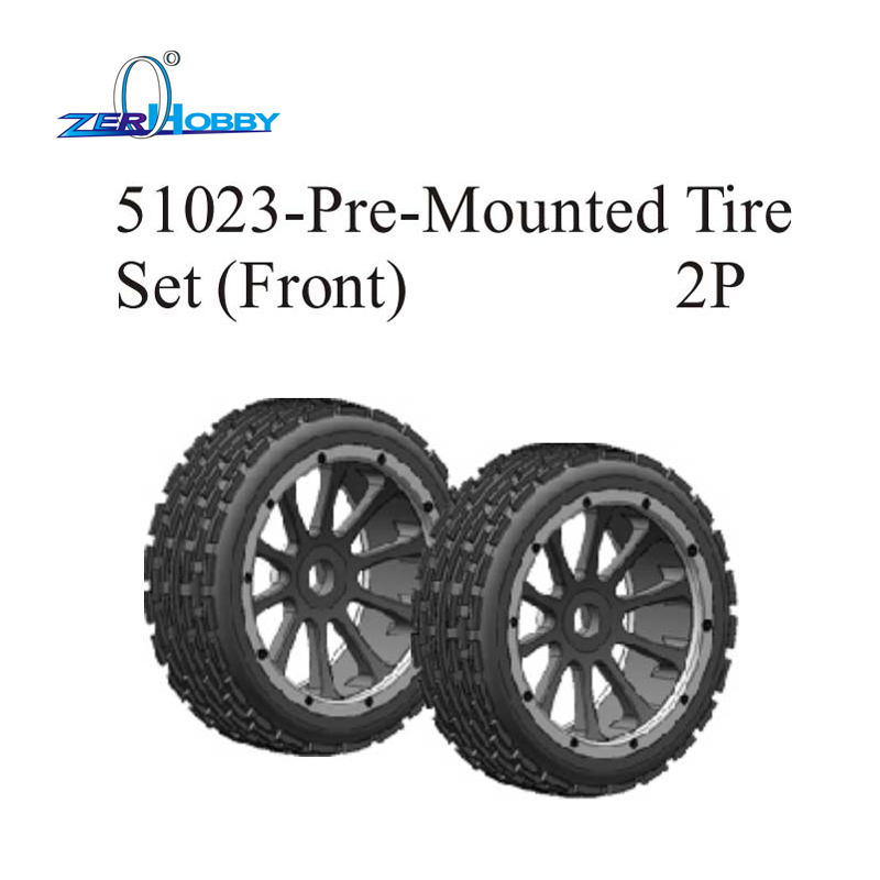 hsp rc car toys parts accessories tire set wheel complete for 1/5 gas baja 94054-4WD, 94059 (item no. 51023, 51003) hsp racing spare parts accessories 54001 chassis for 1 5 gas powered 4x4 off road buggy baja 94054 94054 4wd